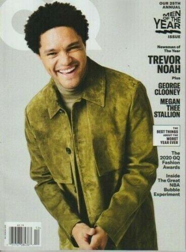 GQ Magazine December 2020/January 2021 Trevor Noah