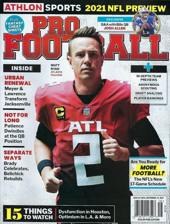 Athlon Sports' 2021 NFL Preview Magazine
