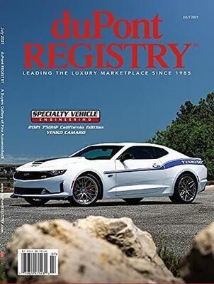 duPont REGISTRY Autos Magazine Subscription
