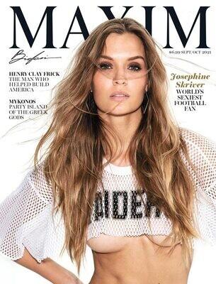 Maxim Magazine September-October 2021- inmate Magazines