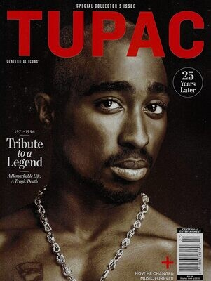 Tupac Special Edition Magazine 25 Years Later