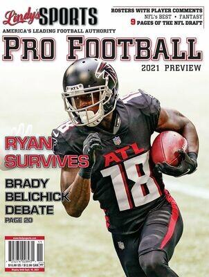Lindy's Sports Pro Football 2021 Preview- Atlanta Falcons - Calvin Ridley