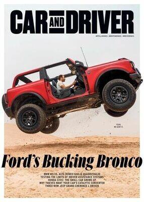 Car and Driver Magazine September 2021