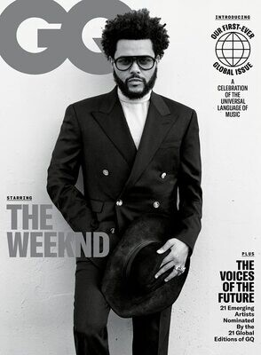 GQ Magazine (September, 2021) The Weeknd Cover - inmate Magazines