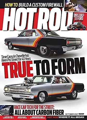 Hot Rod Magazine October 2021