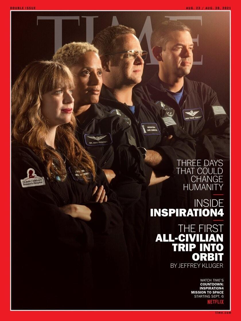 Time Magazine Aug 23 / Aug 30 2021