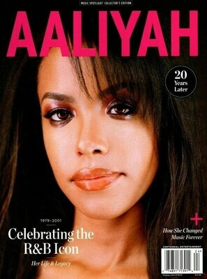 Aaliyah Magazine 20 Years Later Music Spotlight