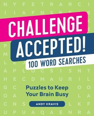 Challenge Accepted!: 100 Word Searches Paperback