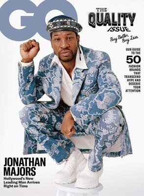 GQ Magazine October 2020 - Jonathan Majors - inmate Magazines