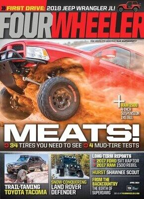 Four Wheeler Magazine Subscription - Inmate Subscription