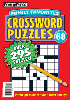 Penny Press Family Favorites Crossword Puzzles #68