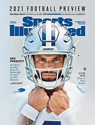 Sports Illustrated Magazine 2021 Football Preview