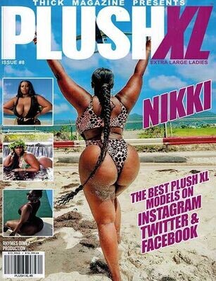 Plush XL Issue 08 Year 2021 - inmate Magazines