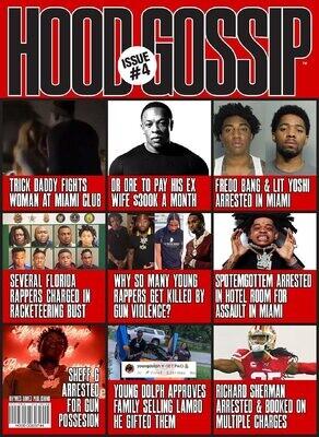 Hood Gossip Magazine Issue #4 - inmate magazines