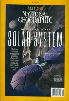 National Geographic September 2021 The Mysteries of the Solar System