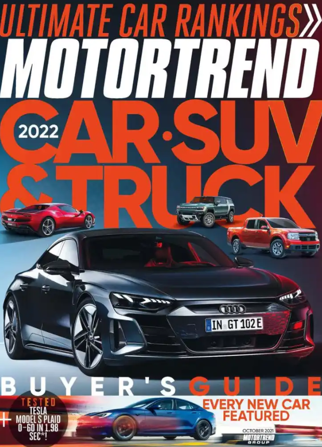 Motor Trend Magazine October 2021
