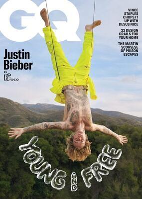 GQ Magazine May 2021 Justin Bieber - inmate Magazines