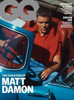 GQ USA Magazine October 2021 The Evolution of Matt Damon - inmate Magazines