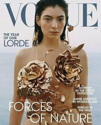 Vogue Magazine October 2021