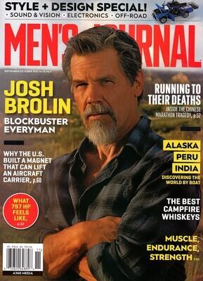 Men's Journal Magazine September/October 2021