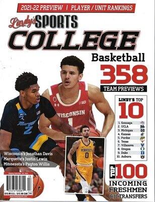 Lindy's Sports College Basketball Magazine 2021-2022