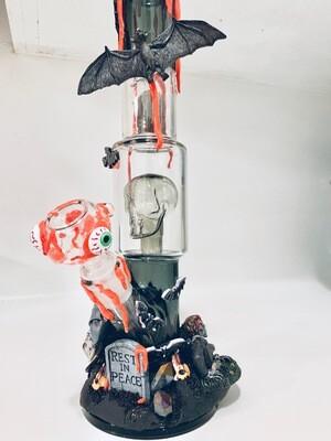 Custom Horror Water Pipe Art