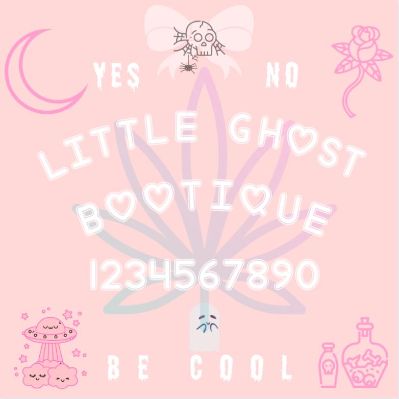 Little Ghost Ouija Sticker