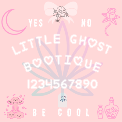 Little Ghost Ouija Sticker