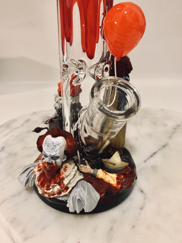 Pennywise Water Pipe Art