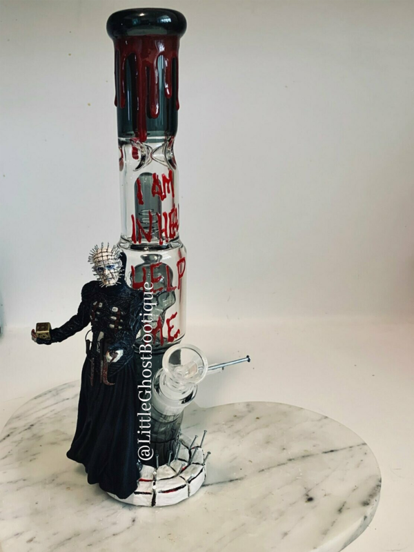 Hellraiser Water Pipe Art