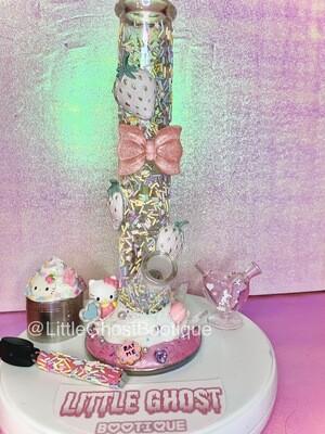 Hello Kitty Strawberry Shortcake Waterpipe