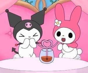 Kuromi And Melody Waterpipe