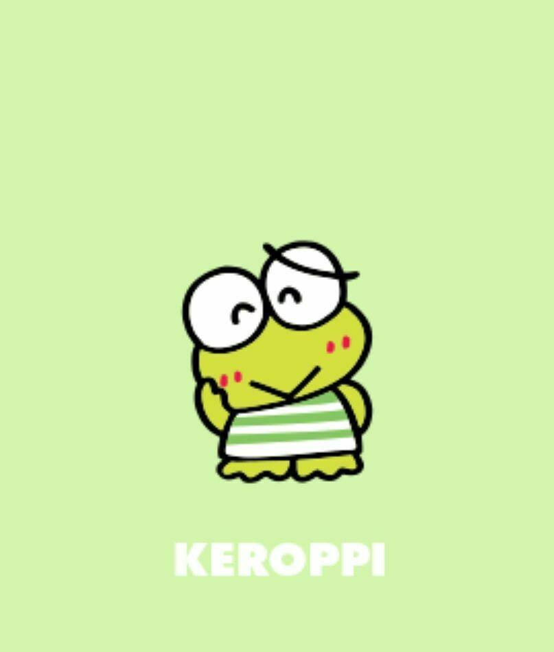 Keroppi The Frog