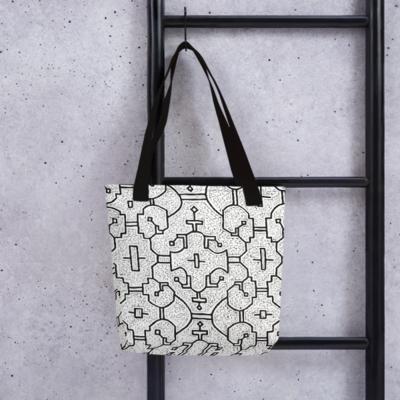 Shipibo Print Tote Bag