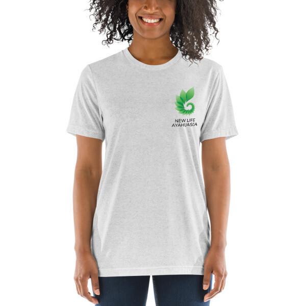 New Life Ayahuasca UNISEX Short sleeve t-shirt (LIGHT)