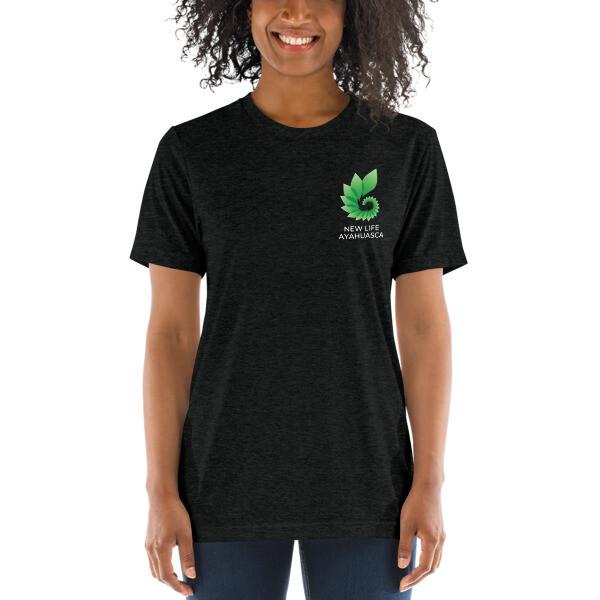 New Life Ayahuasca Unisex Short sleeve t-shirt (Dark)