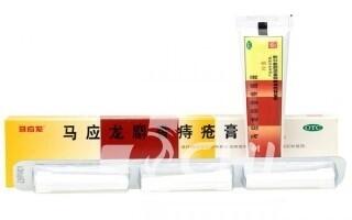 Красная китайская мазь на основе мускуса для лечения геморроя