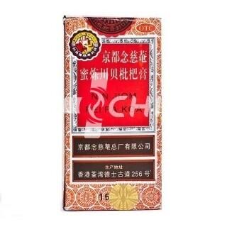 Имбирный китайский сироп от кашля