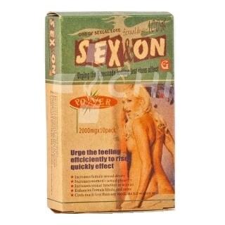 Виагра-порошок Богиня секса SEX&ON (God of Sexual Love) секс возбудитель для женщин
