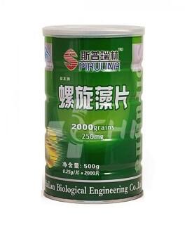 Спирулина в таблетках 1000 таб. по 250 мг. (Green Spirulina Algae)