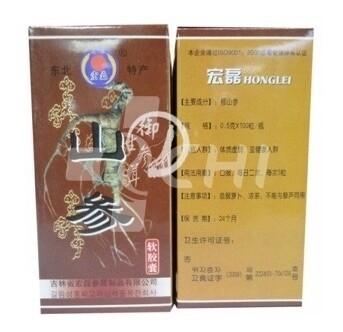 Капсулы китайского женьшеня «Panax Ginseng»