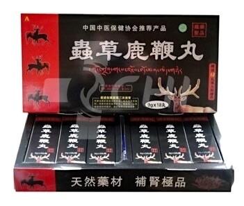Пилюли для мужской потенции на оленьих пантах и кордицепсе