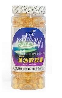 Омега-3: DHA и EPA Капсулы с содержанием жира глубоководных рыб