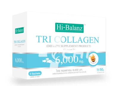 Рыбий коллаген Hi-Balanz TRI Collagen с повышенным содержанием коллагена 6,000 mg