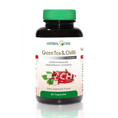Экстракт Зеленого Чая и Чили для похудения