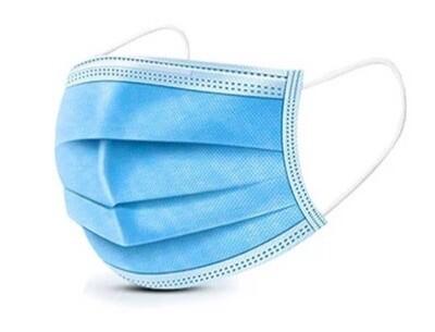 Медицинские (защитные) маски 3х слойные от 500 штук