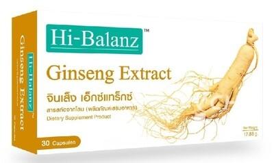 Экстракт Женьшеня для здоровья и иммунитета (Ginseng Extract) / Hi-Balanz