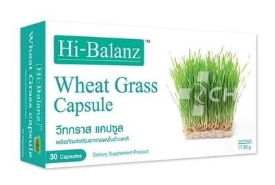 Молодые побеги пшеницы (Wheat Grass) – природный энерготоник / Hi-Balanz