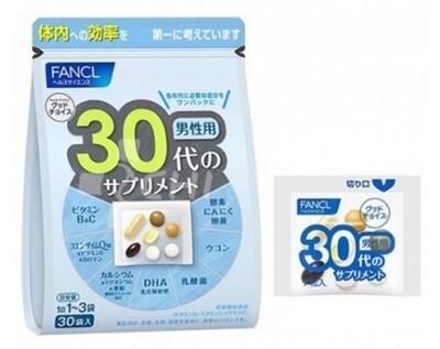 Комплекс витаминов и минералов (FANCL) для мужчин старше 30 лет