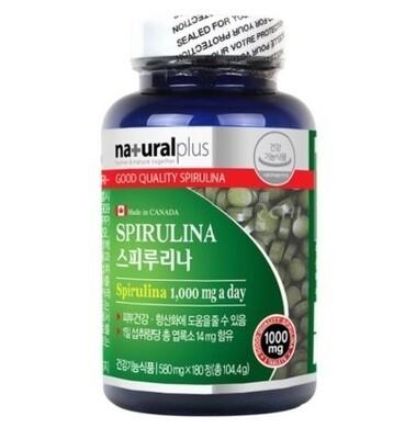 Натуральная Спирулина 100% * 180 таблеток (производство Канада)